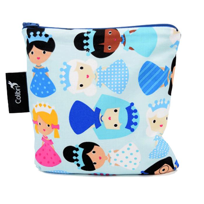 Colibri Reusable Snack Bag Large Ice Princesses