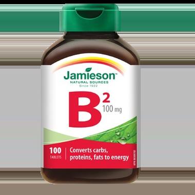 Jamieson Vitamin B2 100 mg 100 Tablets