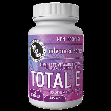 AOR Total E Complete Vitamin E Complex 445 mg 60 Softgels