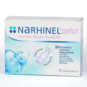 Narhinel Confort Recambios 20uds