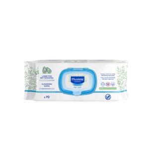 Mustela toallitas dermo-suavizantes aloe 70uds