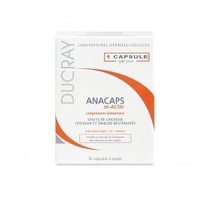 Ducray Anacaps para cabello y uñas 30cáps