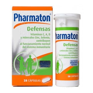 Pharmaton Defensas 28cáps