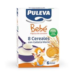 Puleva bebé papilla 8 cereales con Fos 500gr