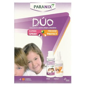Paranix pack dúo spray  y protec