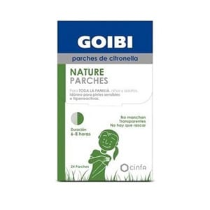 Goibi Nature parches citronella 24uds