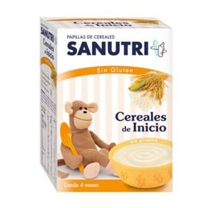 Sanutri cereales de inicio sin gluten 600gr