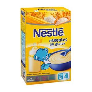 Nestlé papilla cereales sin glúten 600gr