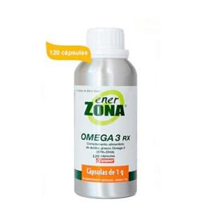 Enerzona Omega 3 RX aceite de pescado 120cáps