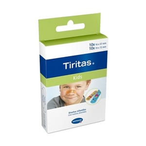 Tiritas Kids apósito adhesivo 2 tamaños 20uds