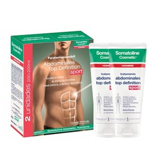 Somatoline hombre abdominales top definition 200ml + 200ml