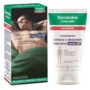Somatoline hombre cintura y abdomen intensivo noche 150ml