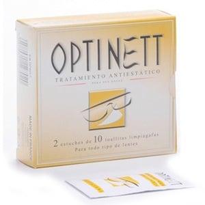 Optinett toallitas limpia gafas 20uds