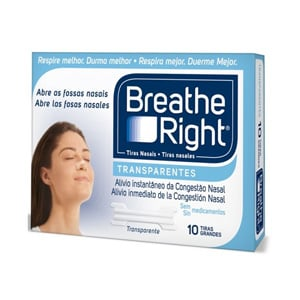 Breathe Right tira nasal T-Grande 10uds