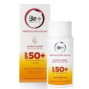 Be+ fotoprotector emulsión facial  SPF50 50ml