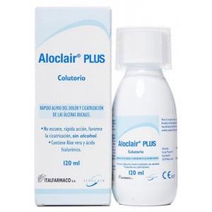 Aloclair plus dentífrico colutorio 120ml