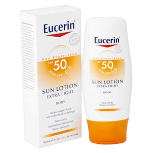 Eucerin Sun Protection loción extra light SPF50+ 150ml