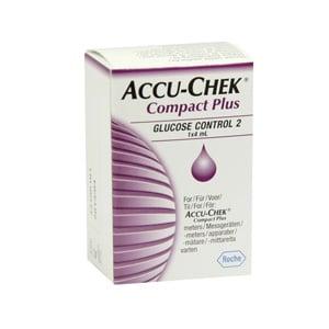 Accu-Chek compact plus control glucosa 4ml