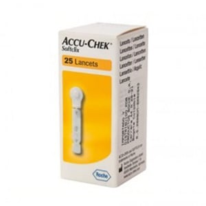 Accu-Chek Softclix lancetas 25uds