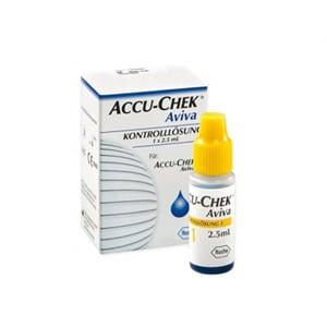 Accu-Chek Avivaglucemia solución de control 2.5ml