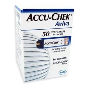 Accu-Chek avivaglucemia 50 tiras