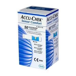 Accu-Chek Sensor conforttira reactiva glucosa 50uds