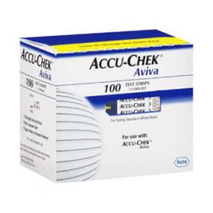 Accu-Chek Aviva tiras reactivas glucemia 100 tiras