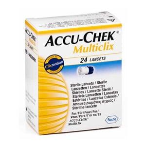 Accu-Chek Multiclixlancetas 24uds