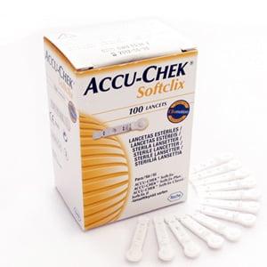 Accu-Chek Softclix lancetas 200uds