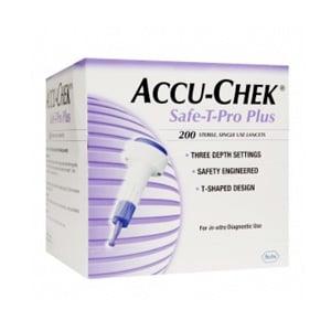 Accu-Chek Safe T pro plus 200 lancetas