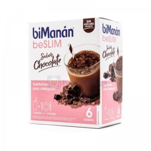 biManán Sustitutive batido chocolate 5 sobres