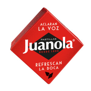Juanola pastillas clásicas regaliz 6g