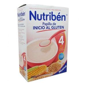 Nutribén papilla inicio al gluten 300gr