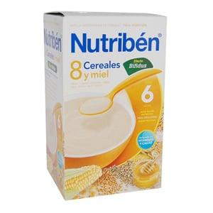 Nutribén 8 cereales con miel y bífidus 600gr