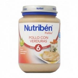 Nutribén Potito pollo y verduras 200gr