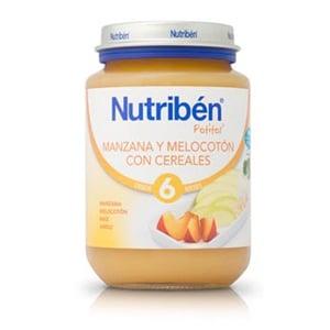 Nutribén manzana melocotón cereales 200gr
