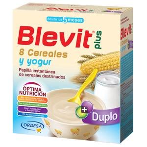 Blevit Plus 8 cereales y yogur 600gr