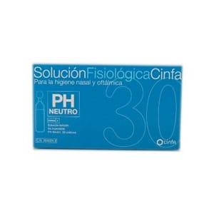 Cinfa solución fisiológica 30uds