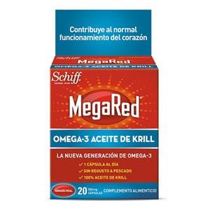 MegaRed Omega 3 aceite de krill 20cáps