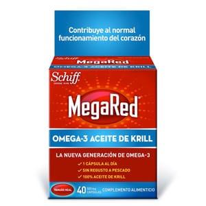 MegaRed Omega 3 aceite de krill 40cáps