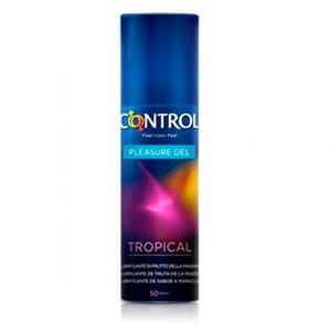 Control lubricante gel tropical delirium 50ml