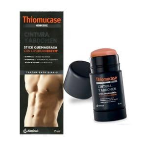Thiomucase stick hombre cintura y abdomen 75ml