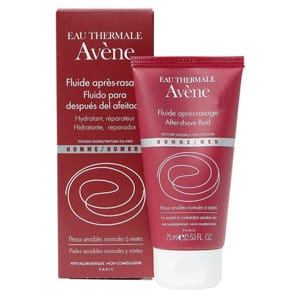 Avène fluido hidratante y reparador after shave 75ml