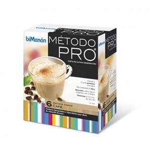 biManán método PRO batido de café 6 sobres