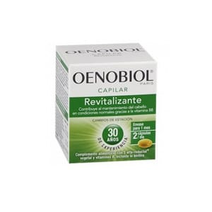 Oenobiol capilar revitalizante triplo 60cáps x 3uds