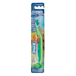 Oral-B Stages 2 cepillo de dientes infantil 2-4 años