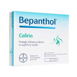 Bepanthol colirio 10 monodosis x 05ml