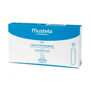 Mustela suero fisiológico 5mlX20uds