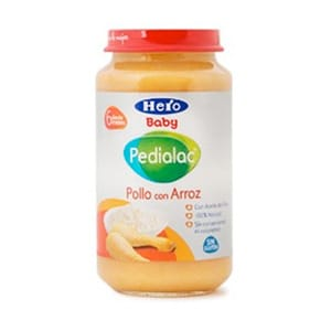 Hero Baby Pedialac pollo con arroz 250gr