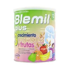 Blemil Plus 3 crecimiento cereales y fruta 400gr